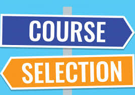 Course Selections DUE THIS WEEK (Feb 26 to March 2)
