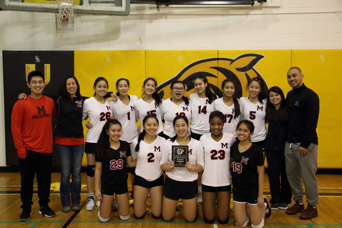 FMM Sr Girls @ Volleyball Championships
