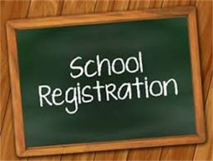 REGISTRATION INFORMATION for September 2020