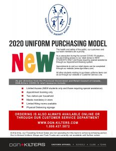 UNIFORM SALE – Getting Ready for September!