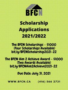 BFCN Scholarships & Awards for Black Youth